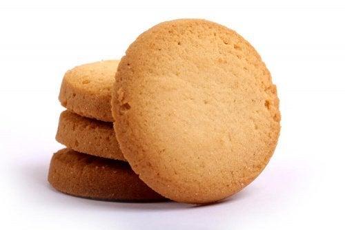 Biscoitos de nata fáceis de fazer