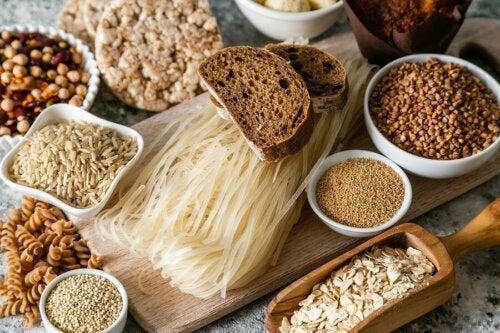 O que os cereais contêm?