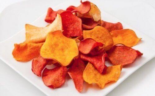 Como fazer chips de berinjela e outros vegetais