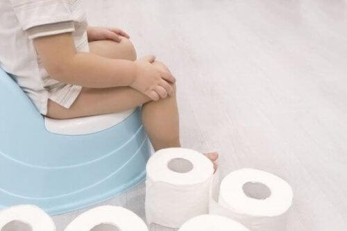 Como seu bebê reage quando inicia o desfralde?