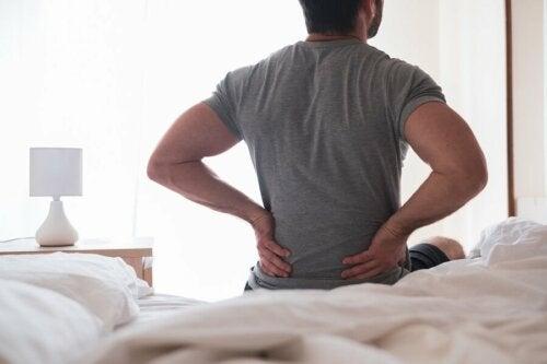 Sintomas de dor na ciática