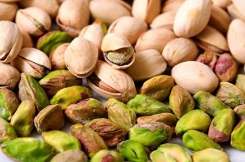 Dieta contra anemia: pistaches
