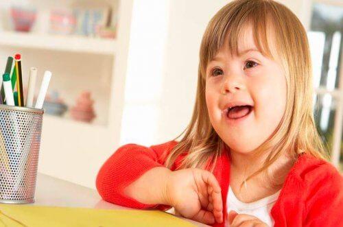 Uma educação de sucesso para crianças com Down
