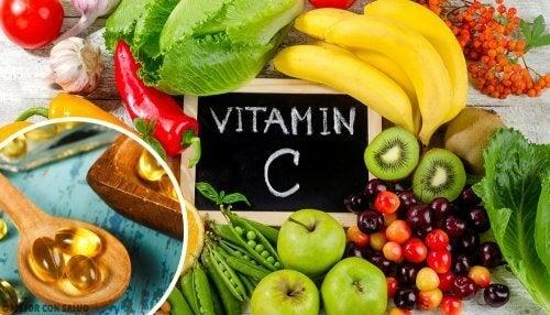Vitamina C para problemas de pele