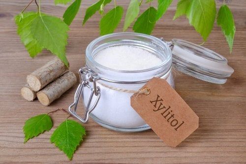 Xilitol para sustituir o açúcar