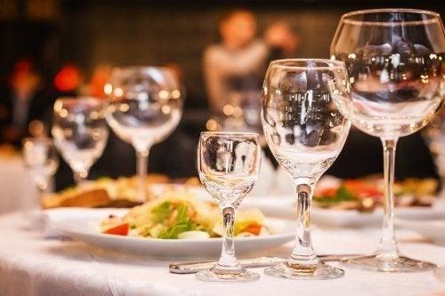 3 opções de menu para casamento