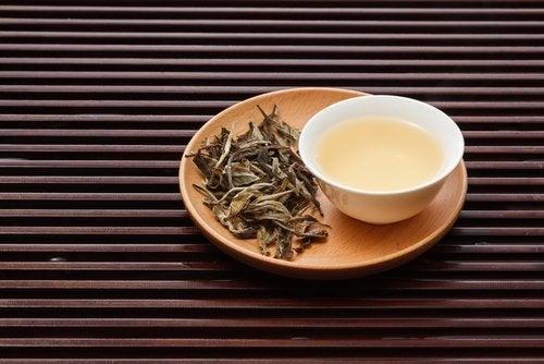 Chá branco para reduzir o colesterol