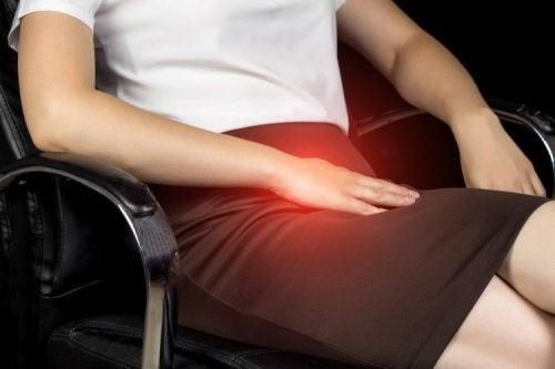 A pubalgia provoca dor na virilha