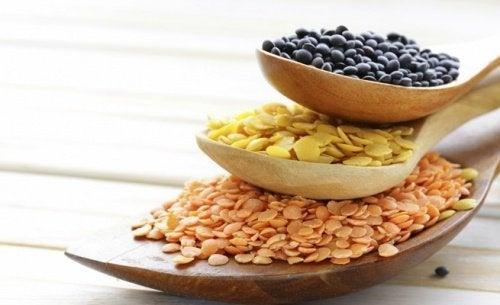 Grãos e sementes sem glúten