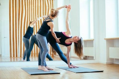 Queimar calorias com a ioga