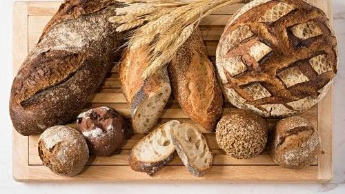 Pães com baixo teor de carboidratos