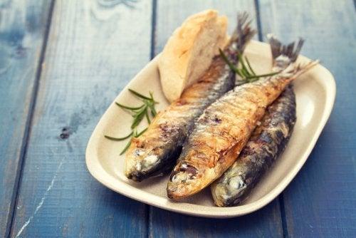 Peixe na dieta