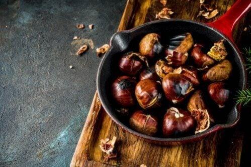 Receitas à base de castanhas deliciosas e saudáveis