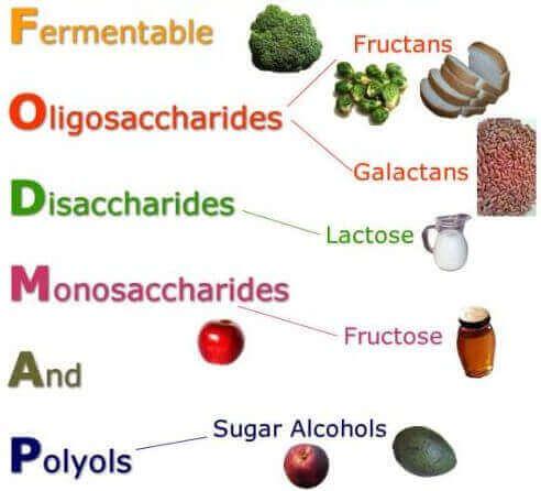 Qual é a relação entre a síndrome do intestino irritável e a dieta FODMAP
