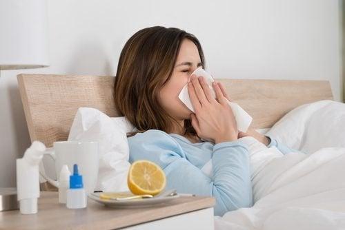 Resfriados devido ao sistema imunológico enfraquecido