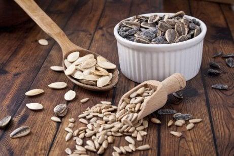 Sementes são alimentos ricos em zinco
