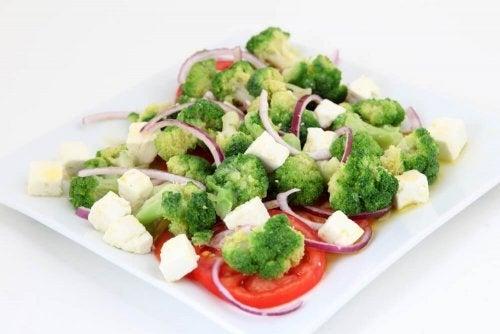 Legumes cozinhados como alimento saudável