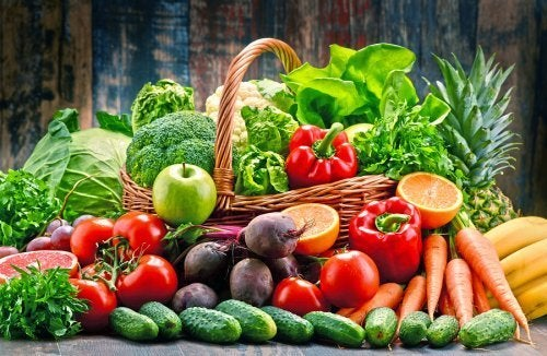 Vegetais e frutas para controlar a psoríase