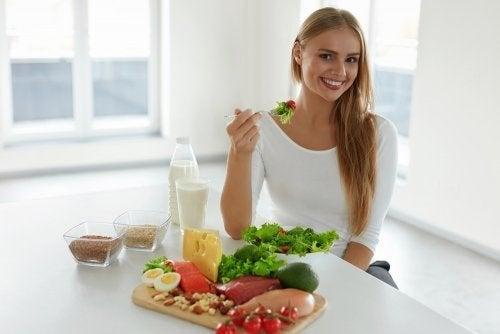 A alimentação é fundamental para manter o bem-estar