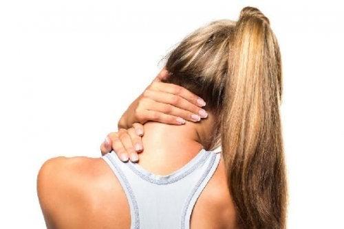 Alongamento para aliviar torcicolo