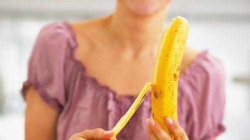 Bananas para a dieta