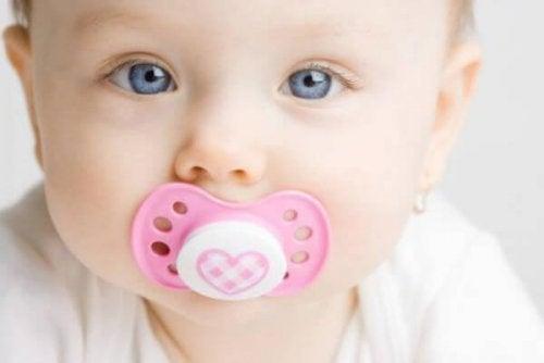 Chupetas adequadas para o bebê