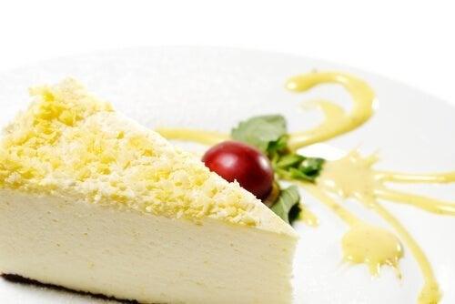 Cheesecake e gengibre