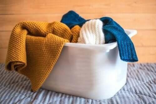 Os melhores conselhos para lavar roupas de lã