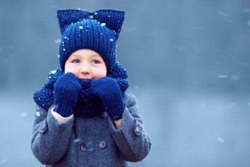 Hipotermia em crianças no inverno