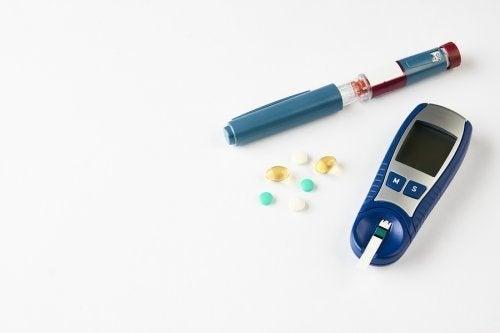 Dispositivos de controle da diabetes