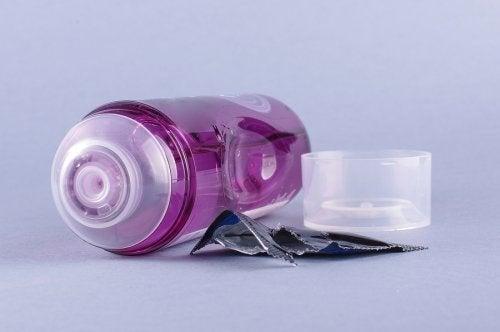 Lubrificante para o uso do preservativo