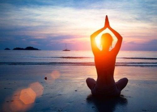 Meditação ao ar livre