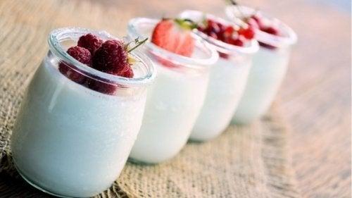 Iogurtes para a dieta