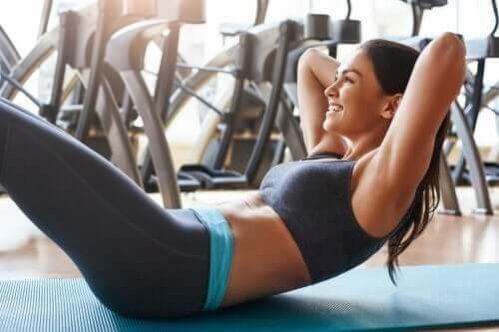 Exercícios abdominais sem afetar as costas