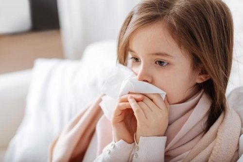 Ervas para tratar a rinite alérgica nas crianças