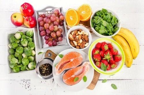 Frutas e verduras na dieta mediterrânea