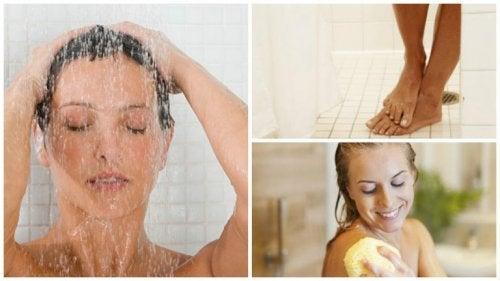 Como fazer para tomar um banho perfeito