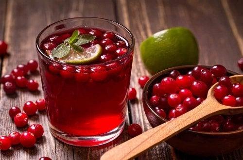 Bebida para combater a cistite
