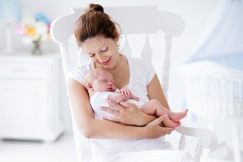 Chegada do bebê em casa