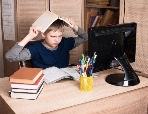 As crianças com Transtorno negativista desafiante não querem estudar