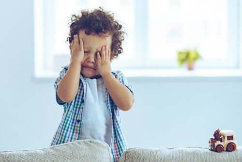 Sinais de alerta após a criança bater a cabeça