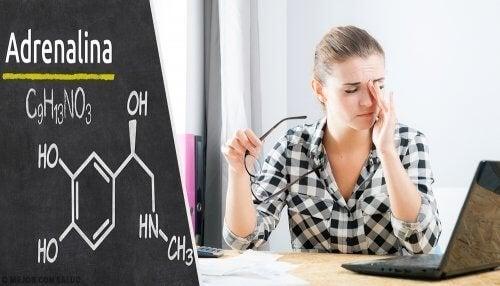 Epinefrina pode causar cansaço