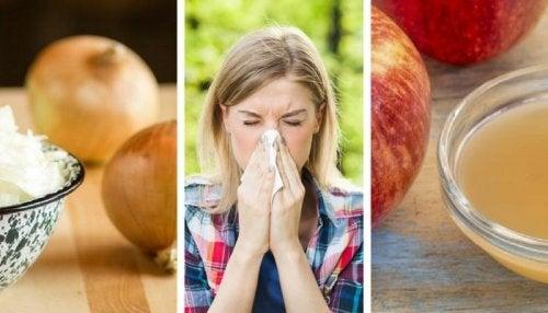 Como aliviar a febre do feno com produtos naturais