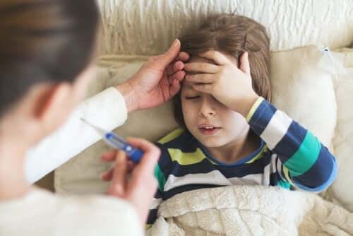 Febre em crianças pequenas: o que devemos fazer