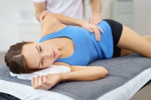 Fisioterapia para problemas nos quadris