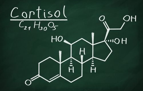 Fórmula química do cortisol