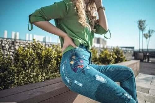 Acrescente estilo ao seu jeans com retalhos