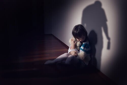 Criança com medo