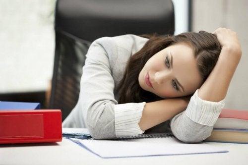 O cansaço traz depressão