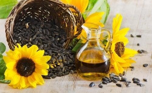 Óleo de girassol, o óleo mais recomendado